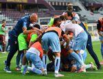 El Lazio presiona al Juventus