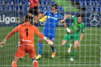 2-1. Jaime Mata desatasca al Getafe