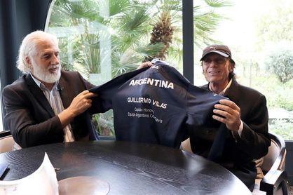 Guillermo Vilas, Embajador Mundial del tenis argentino