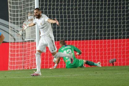 Benzema, mejor jugador de junio de LaLiga Santander