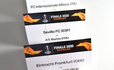 El camino y los posibles rivales del Sevilla en la Europa League.