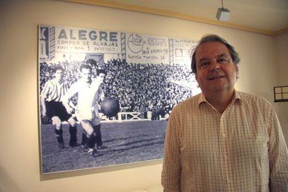 Federico Alegre, el único hombre que ya ha levantado la Liga y la Copa
