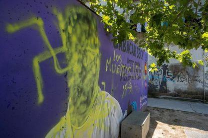 El karateca Babacar Seck denunciará las pintadas racistas en su contra