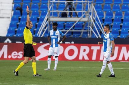 1-0. La fe inquebrantable del Leganés doblega a un Valencia con pocas ideas