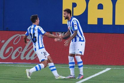 1-2. Una brillante Real anula al Villarreal en un duelo por Europa