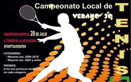 XXXVIII Campeonato de Tenis en Guillena