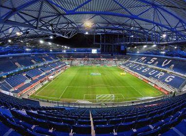 Así es el MSV Arena de Duisburgo, escenario del Sevilla-Roma.