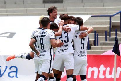 1-2. El argentino Dinenno anota dos goles y le da triunfo a Pumas sobre Atlas