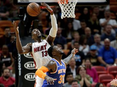 111-106. Adebayo no hace sentir la ausencia de Butler y Heat ganan a Celtics