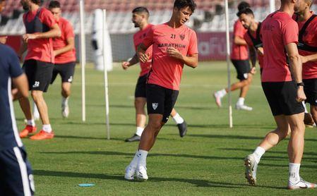 El Sevilla se somete a nuevas pruebas de Covid-19 tras el entrenamiento