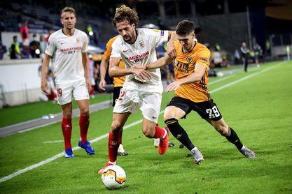 0-1. El argentino Ocampos pone al Sevilla en las semifinales