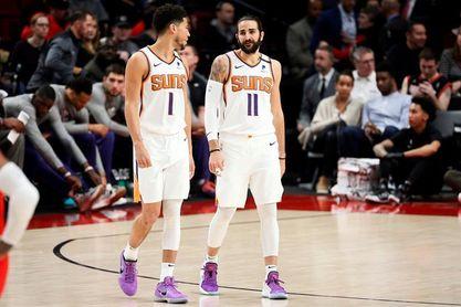 130-117. Booker y Rubio extienden a siete victorias el invicto de los Suns