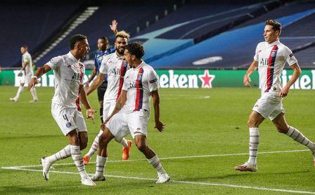 1-2: El PSG, a semifinales tras remontar en el añadido al Atalanta