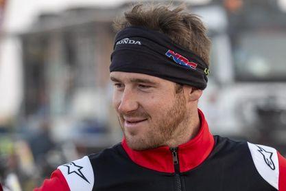 El vencedor del Dakar, Ricky Brabec, comienza su preparación