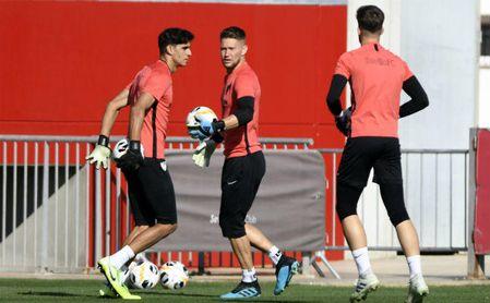 La UEFA modifica los planes en la portería del Sevilla