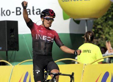 Richard Carapaz no toma la salida en el Giro de Emilia