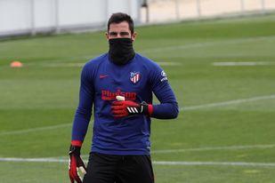 Adán: ´Venir al Atlético fue una de las mejores decisiones de mi vida´