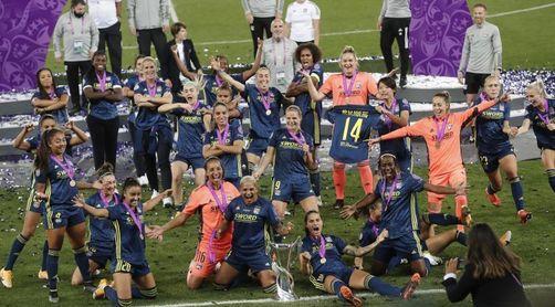 1-3. El Olympique de Lyon, campeón de Europa por séptima vez