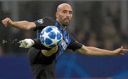 Borja Valero está libre tras terminar contrato con el Inter.