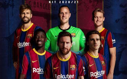 El Barça vende la nueva camiseta con... Leo Messi al frente