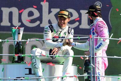 """Stroll: """"Es maravilloso volver a subir al podio"""""""