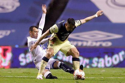 2-3. El uruguayo Viñas decide el triunfo del América, líder del Apertura mexicano