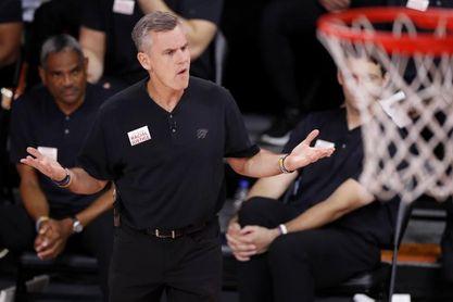 Donovan no seguirá la próxima temporada como entrenador de los Thunder