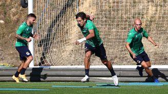 Oyarzabal supera el covid-19 y vuelve a entrenarse con la Real