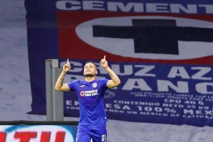 1-0. El uruguayo Rodríguez da triunfo a Cruz Azul, que regresa al liderato