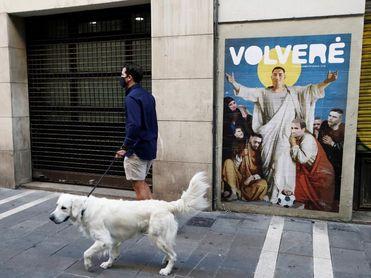 El artista callejero LKN rinde tributo a Chimy Ávila con una nueva obra