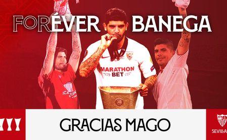 'Forever and Ever': el Sevilla se despide con honores de su 'Mago'