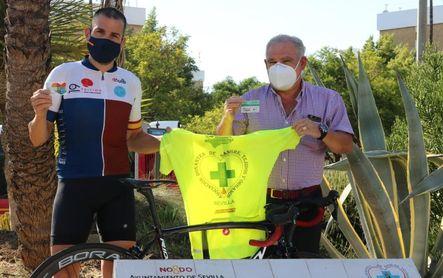 Diego Ruiz y el Ayuntamiento de Benacazón, ante el reto solidario 'Everesting Challenge'