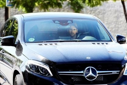 Leo Messi se entrena de forma voluntaria el día de fiesta