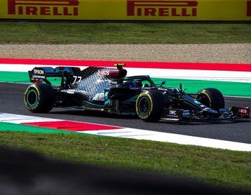 Bottas domina en Mugello; Verstappen, único que aguanta a los Mercedes