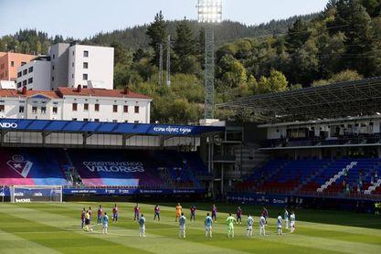 0-0. El Eibar y el Celta se anulan en un partido disputado