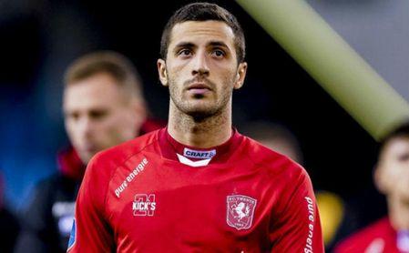 Aburjania estaba cedido en el Twente holandés.
