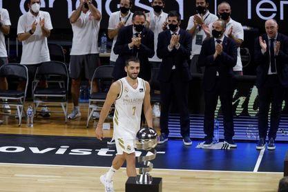 El argentino Facundo Campazzo, MVP de la Supercopa