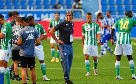 Pellegrini podría retocar el once ante el Valladolid.