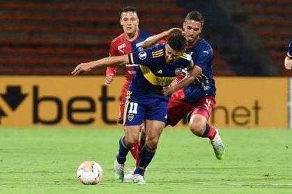 0-1. 'Toto' Salvio acerca a Boca Juniors a octavos y hunde al Medellín