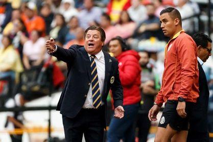 Herrera le advierte al uruguayo Cáceres sobre marcar a Jonathan Rodríguez
