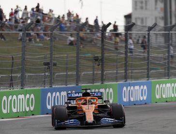"""Sainz: """"Hay que estar contentos, Renault y Racing Point eran más rápidos"""""""