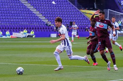 El Valladolid 'cambia la dinámica' ante Celta