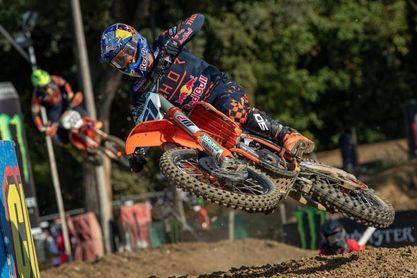 Jorge Prado logra en Mantua su segunda victoria en un Gran Premio de MXGP