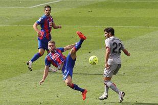 El Eibar calca su mal comienzo de la pasada temporada y ya está en descenso