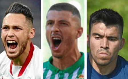 Ocampos, Guido y Acuña viajarán en el avión de Messi.