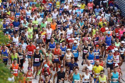 Cancelan la Maratón de Atenas por la pandemia de coronavirus