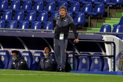 """Pellegrini: """"El equipo está bien pero afectado por la fea derrota de Getafe"""""""