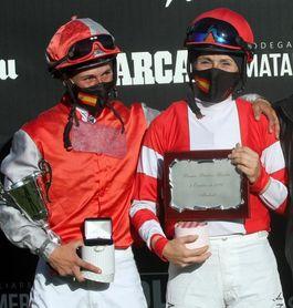 Primer empate del siglo en España entre dos jockeys mujeres