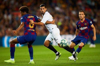 El Sevilla ha perdido sus últimos once partidos en el campo del Barcelona