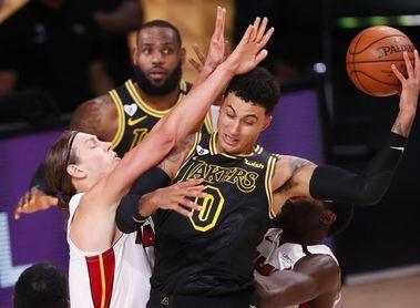 124-114. James y Davis vuelven a exhibirse y Lakers ya tienen ventaja de 2-0